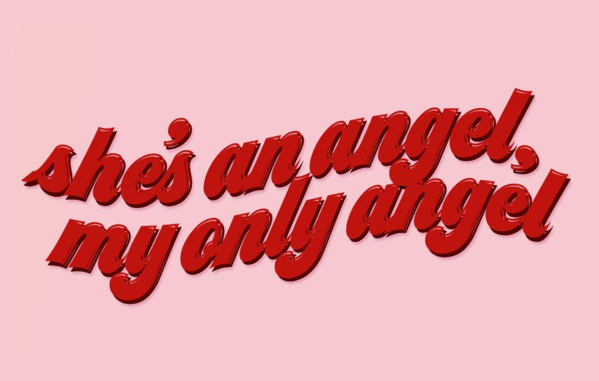 Pin By ʍ On Songs Lyrics Pink Aesthetic Retro Aesthetic Angel Aesthetic