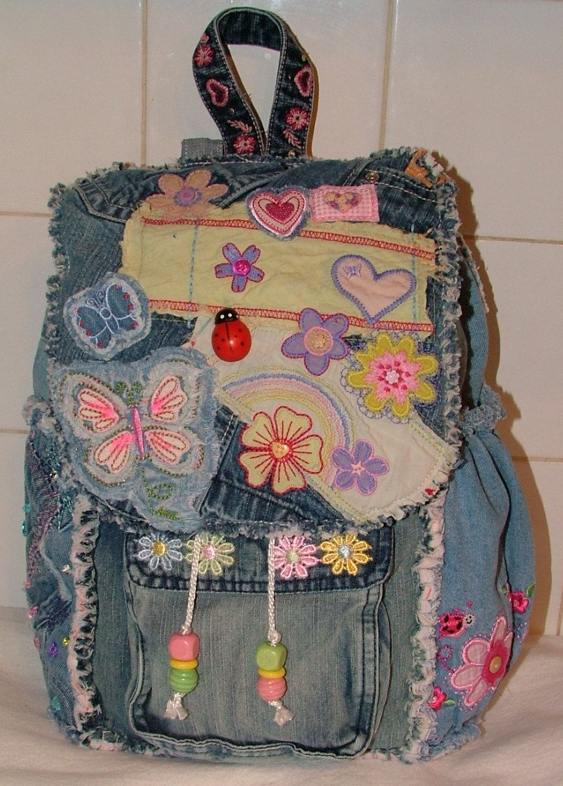 Order: Gabrielle's Backpack от poppypatchwork на Etsy