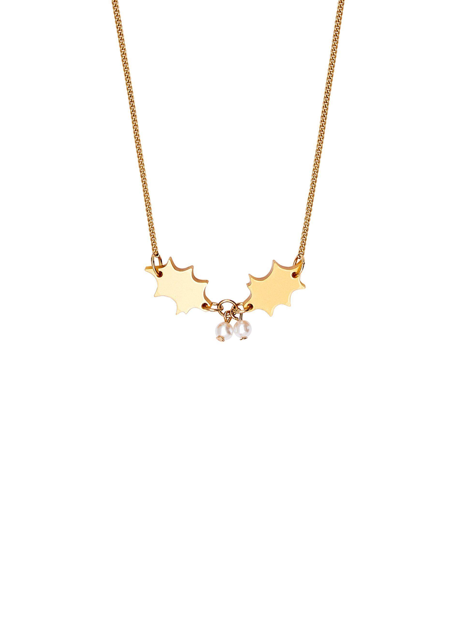 Photo of Golden Holly Halskette – Golden Holly Halskette   Tatty Devine – Tatt …