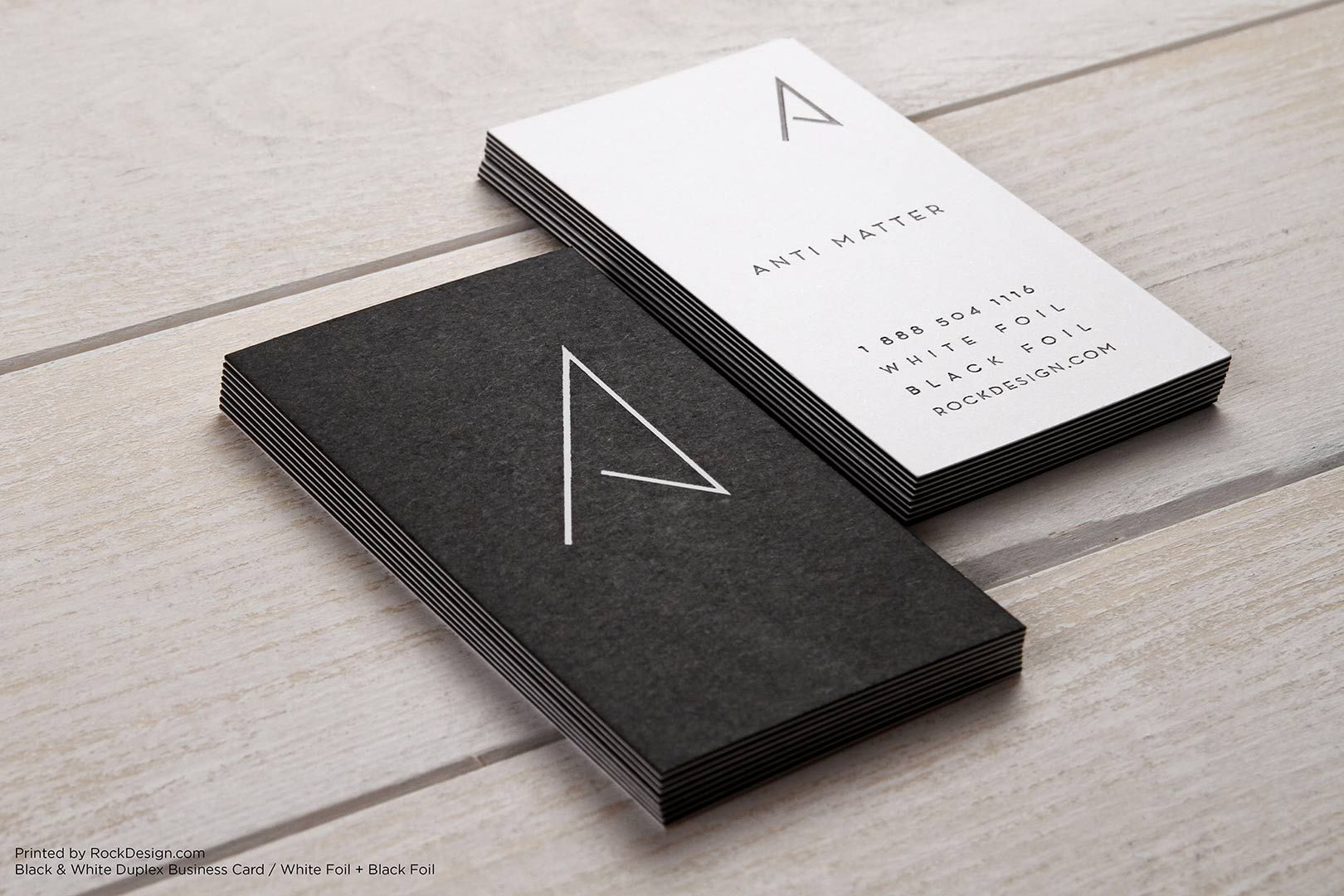 Duplex Business Cards White Business Card Modern Business Cards Business Card Black