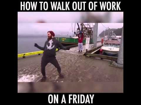 How You Leave Work School On A Friday Youtube Funny Friday