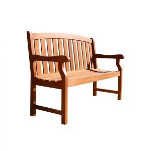 Vifah Marley 2 Seater Patio Bench Garden Patio Bench Dining Set