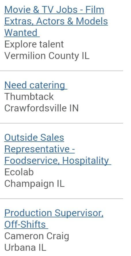 #Jobs available.