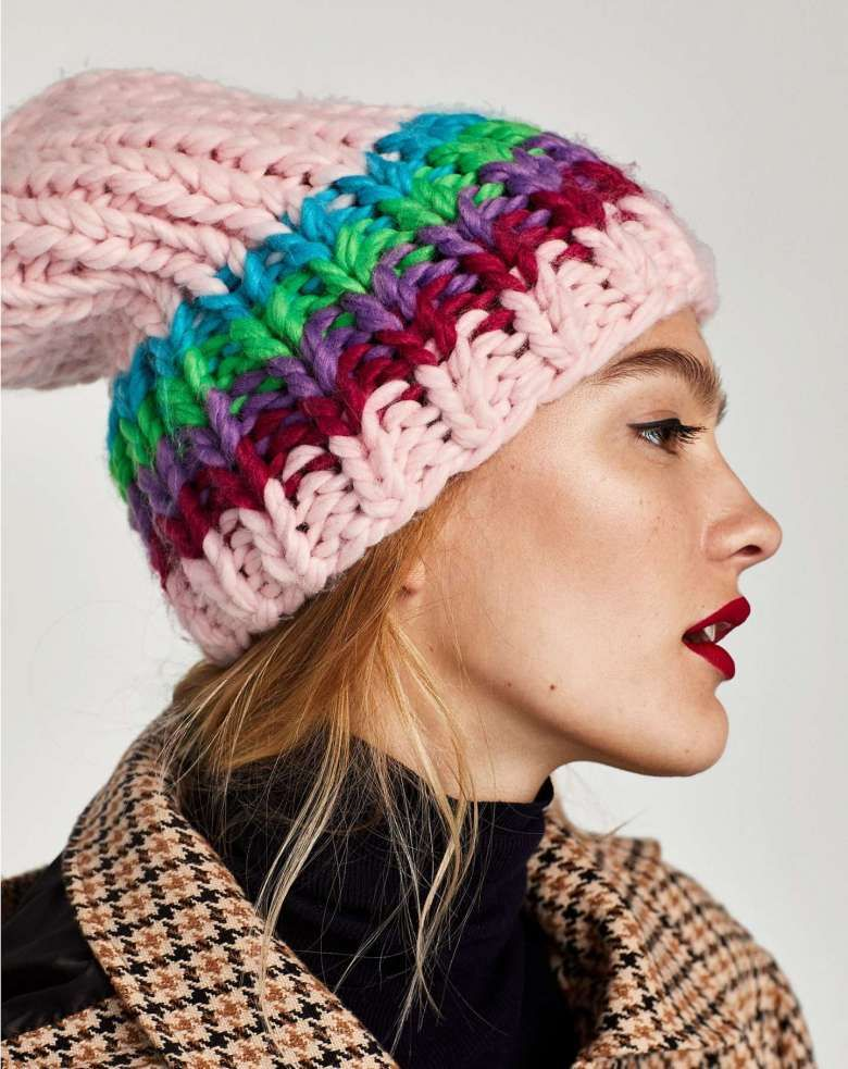 acquista per il più recente Super carino tecnologie sofisticate Berretto a trecce Zara   Maglia   Winter hats, Hats e Beanie