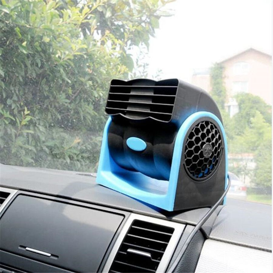 Car Cooling Air Fan Auto Vehicle Truck DC 12V Cooler Speed