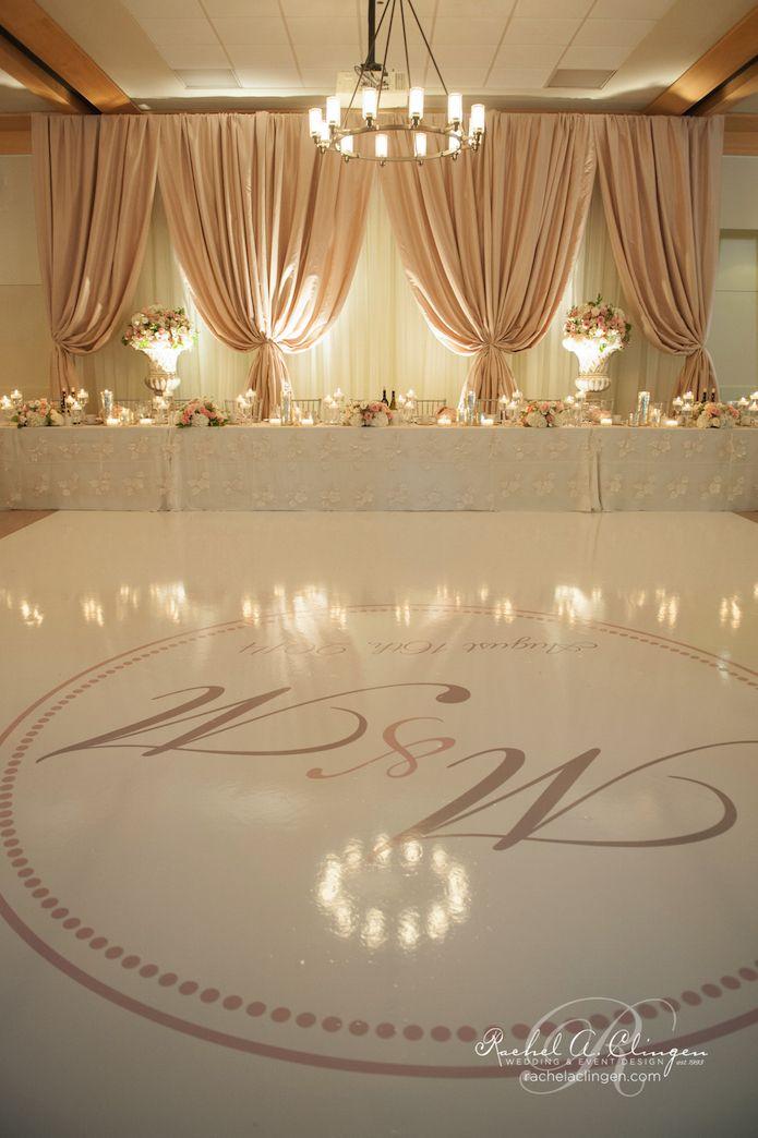 Love The Colouring Of The Back Drop Wedding Decor Toronto Rachel A