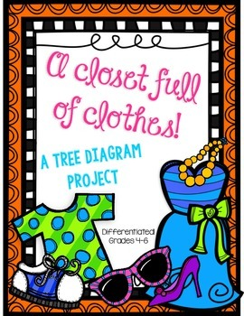 Tree Diagram Project Using Clothes Differentiated Tree Diagram Projects Diagram