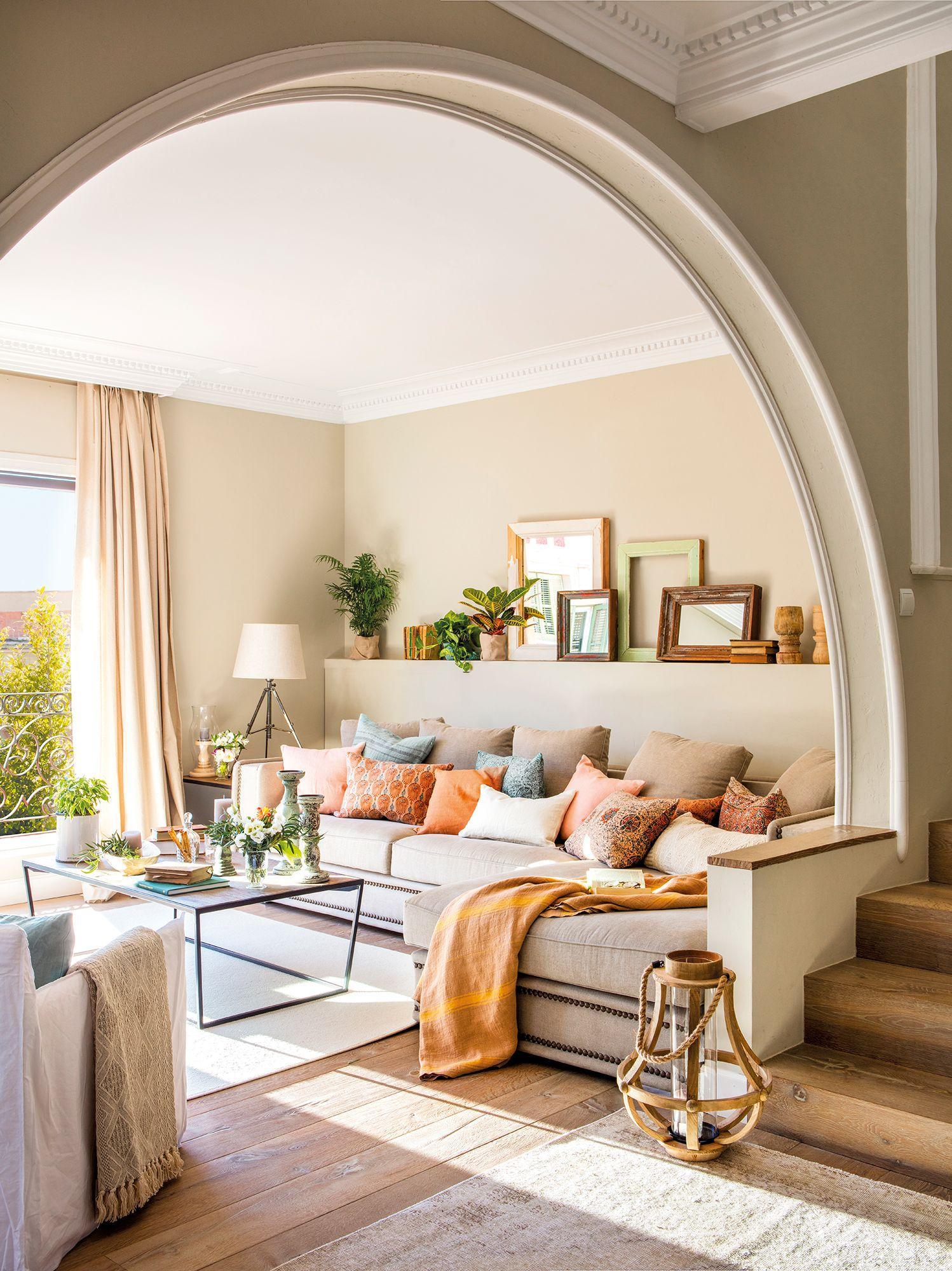 Combinar Dos Pavimentos Diferentes Para Separar Ambientes Decoracion De Interiores Interiores De Casa Decoracion De Unas