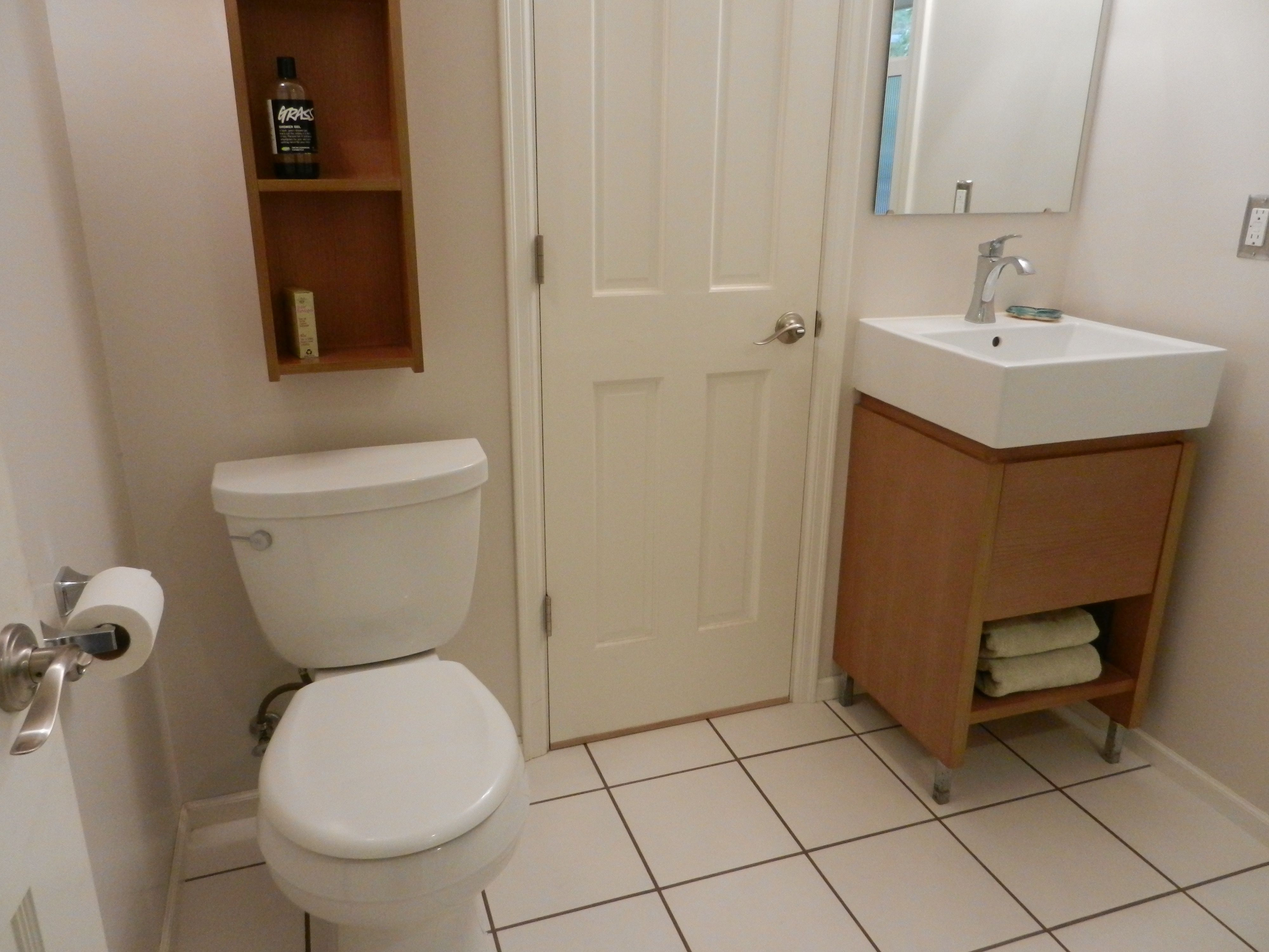 Bathroom Fixtures Eugene Oregon bathroom remodel with an amazing two person shower. castile