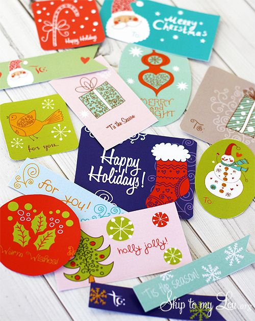 tarjetas regalo imprimibles gratis coloridas | mis cositas ...