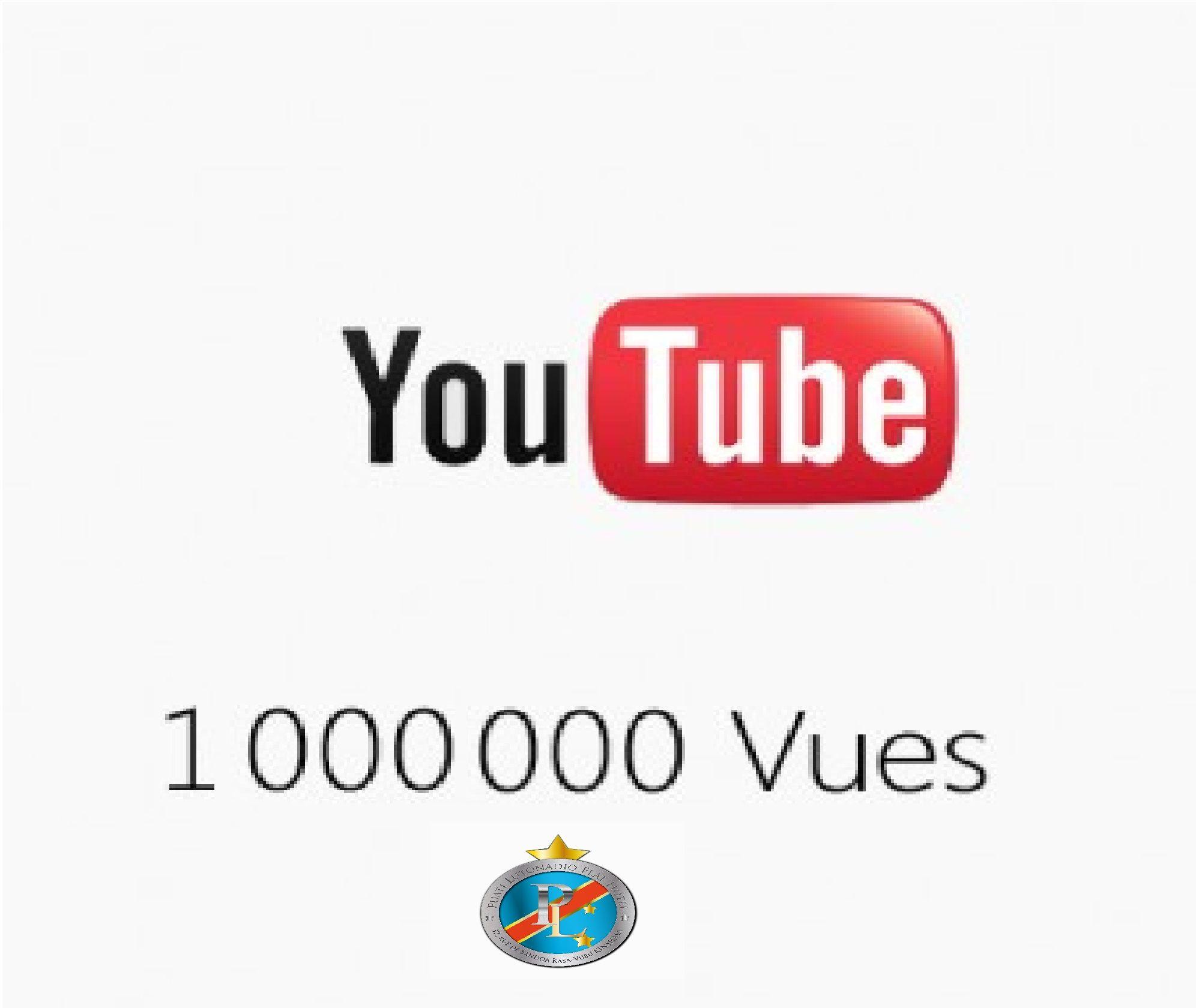 PL ekokisi efúku mokó ya etalemi na Youtube PL a atteint un million de vues sur Youtube PL has reached one million views on Youtube PL ha alcanzado el millón de visitas en Youtube