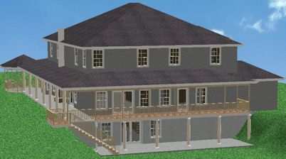 Basement homes walk out daylight basement home designs for Daylight basement homes