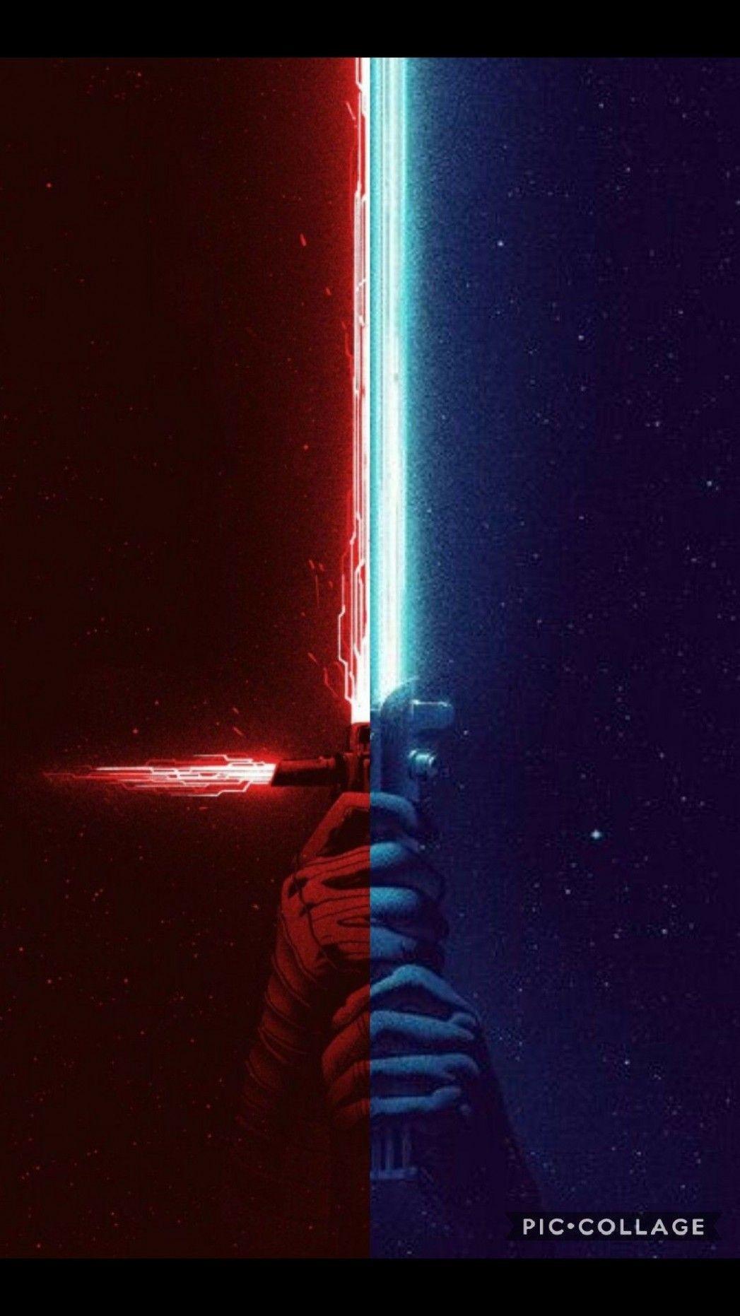 Free Download Blue Lightsaber Wallpaper 12 Background Star Wars Pictures Star Wars Images Star Wars Poster