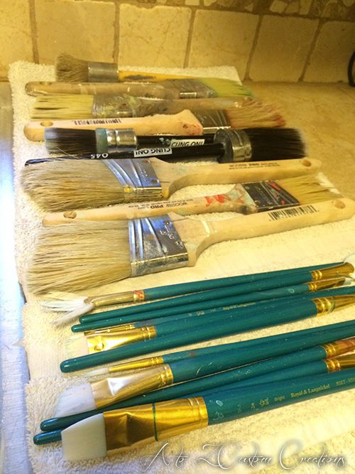Cleaning Your Paint Brushes the All Natural Way :: Hometalk