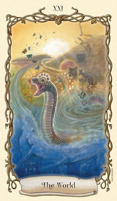 The World (Rainbow Serpent)