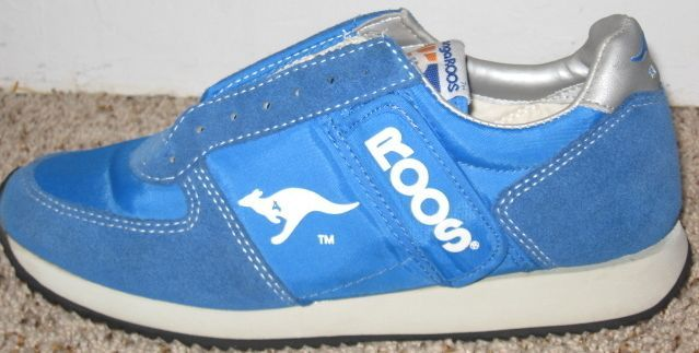 cc6be1844a Kangaroos or Roos shoes with a zipper side pocket on shoe