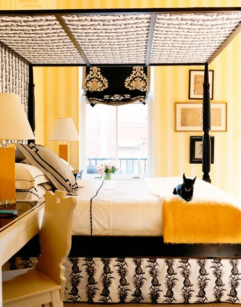 Yellow Bedroom - Paul Costello Photography | Bedroom & Bath ...