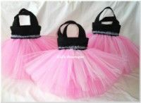 Wild About Pink Party Favor Tutu Bags  This website: http://www.kidsbowtique.com/category_7/Party-Favor-Tutu-Bags.htm offers a huge variety of party favor tutu bags...LOVE THEM ALL!