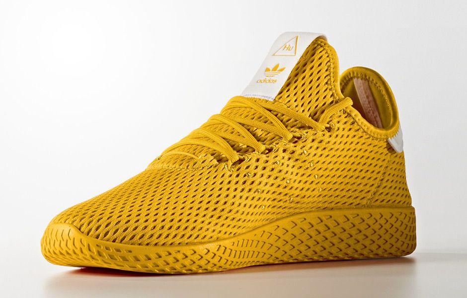 Pharrell adidas Tennis Hu Solids Pack Release Date | SneakerNews.com