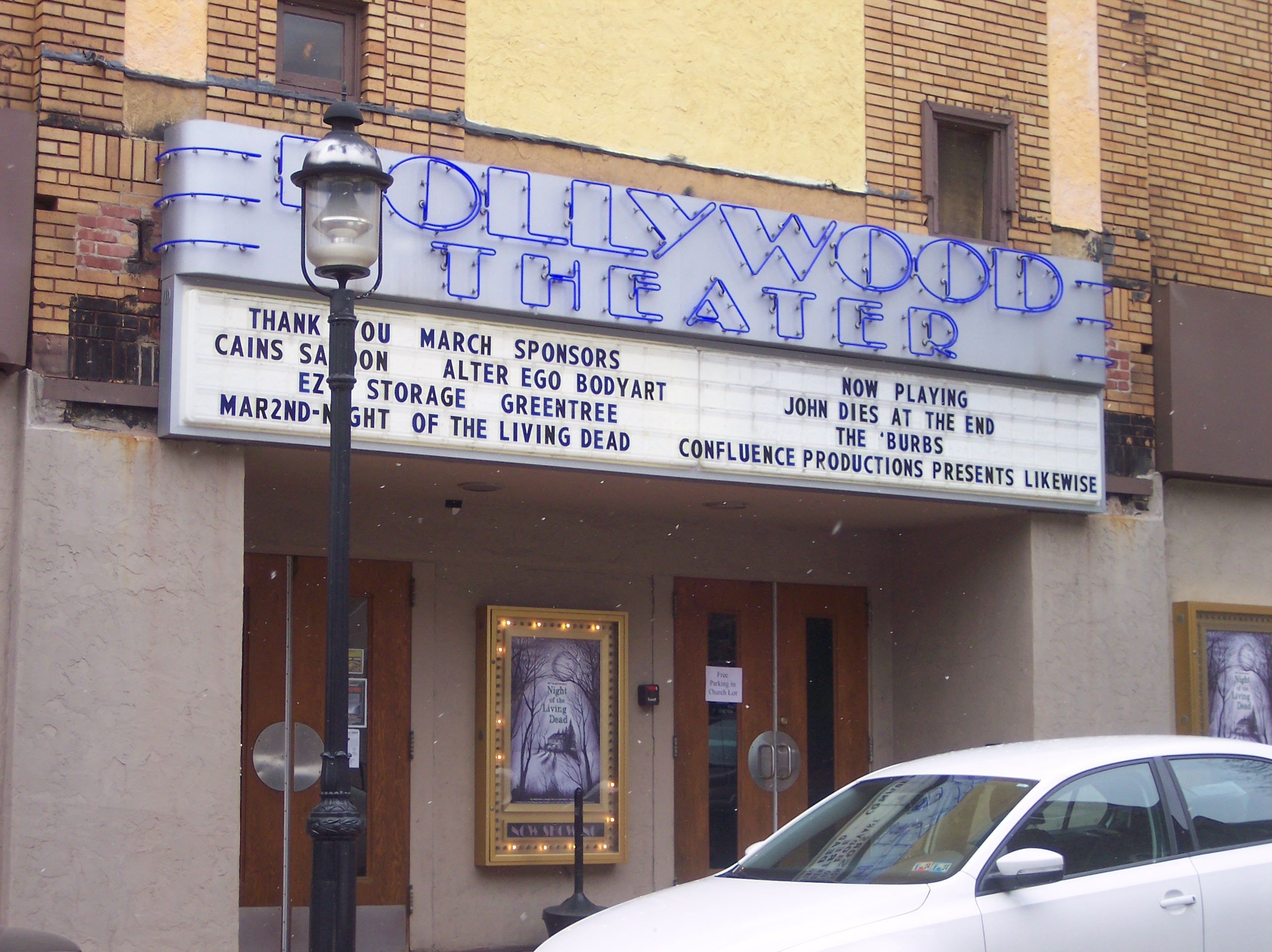 Hollywood Theater Dormont Pa A Well Preserved Here In Ez Storage