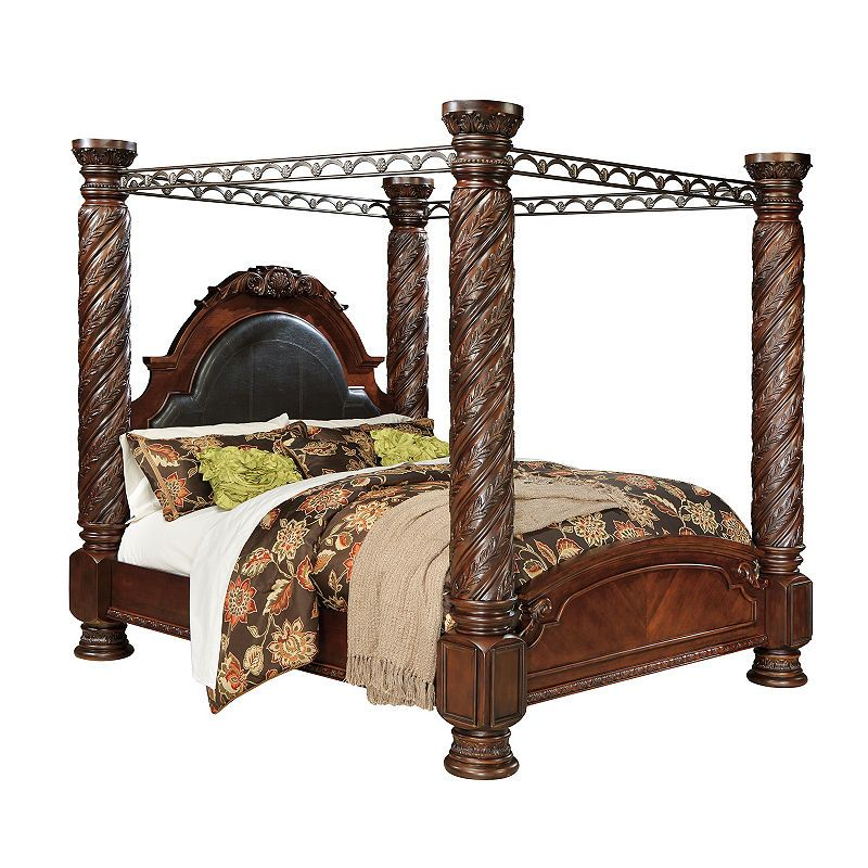 Signature Design By Ashley North Shore King Canopy Bed