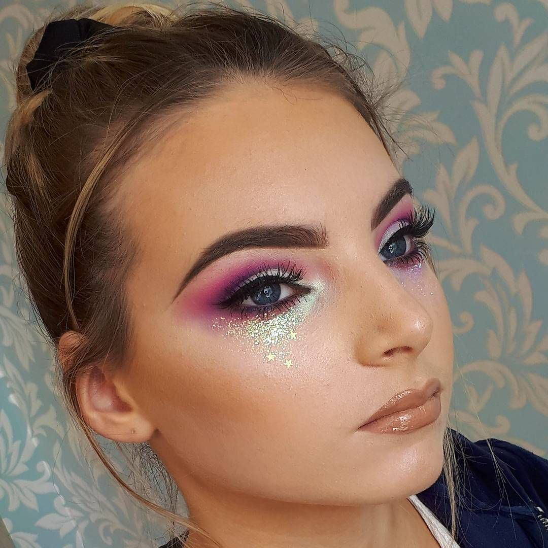 Eye Shadow Beauty Essentials Open-Minded Glitter Powder Eyeshadow Makeup Sequin Diamond Colorful Glitter Gel Shiny Body Mermaid Festival Powder Pigment Makeup Cosmetics Bright And Translucent In Appearance