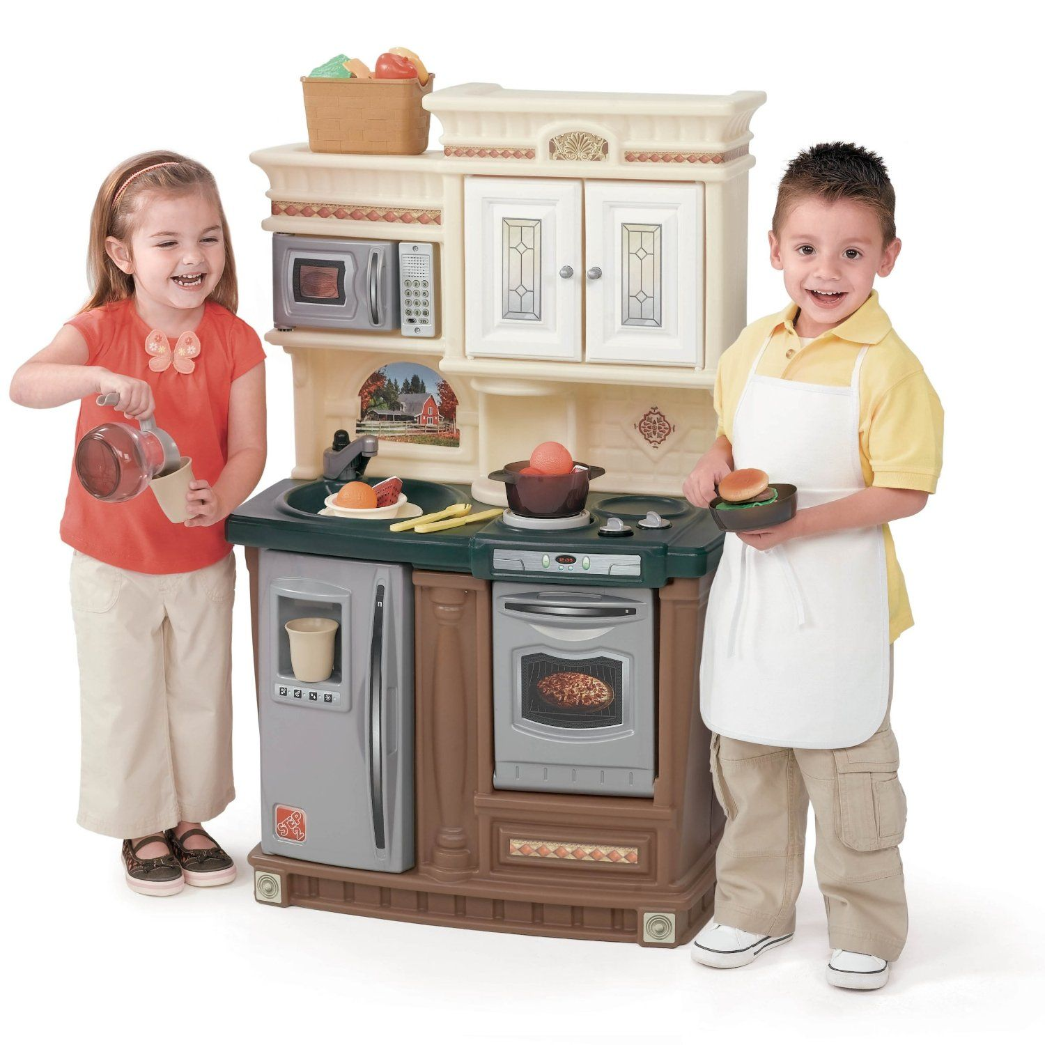 Amazon Com Step2 Lifestyle Traditions Kitchen Toys Games