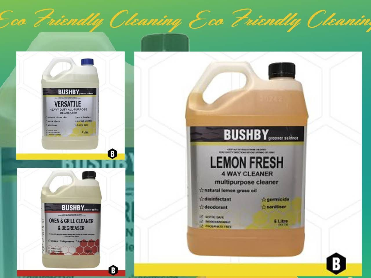 Ezy eco cleaning provides the ecofriendly cleaning products in