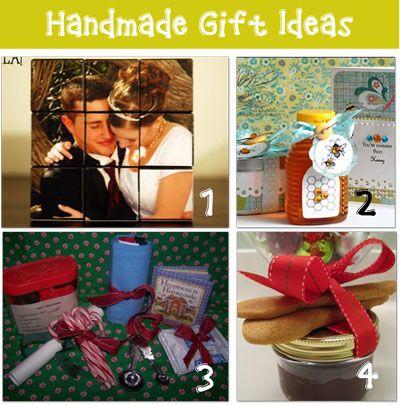 HandmadeGiftIdeas1 DIY Gift Ideas Pinterest Giftss, Junkie and