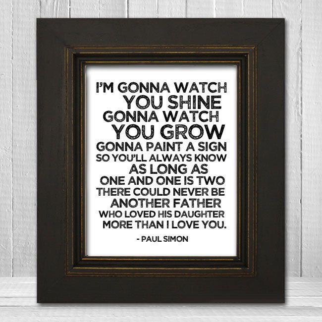 Watch you shine.