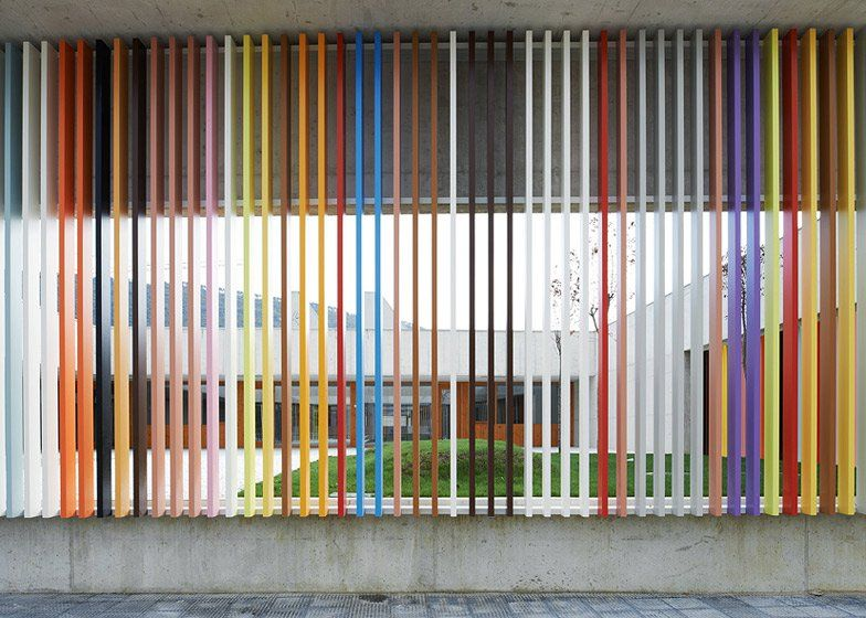 Nursery School in Berriozar by Larraz, Beguiristai