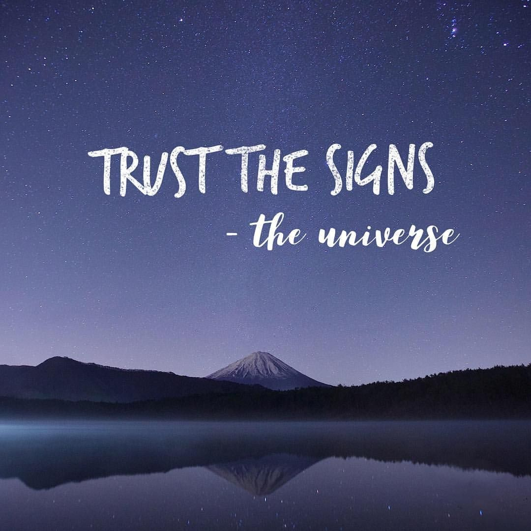Recurring signs are NOT coincidences  The universe is asking