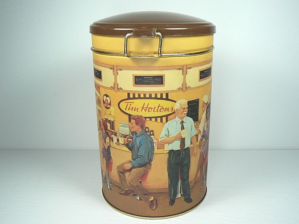 TIM HORTONS Limited Edition Coffee TIN CANISTER 001