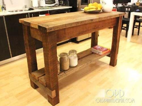 Isla de cocina mesa auxiliar de cocina ruffino muebles mesas ...