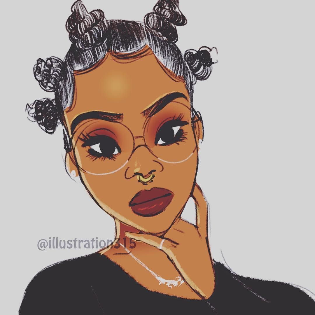 Of Course Black Is Beautiful Black Girl Magic Art Natural Hair Art