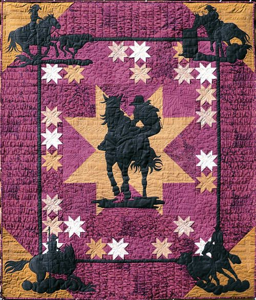 Western Quilt Patterns Browse Patterns Cowboy Quilt Horse Quilt Western Quilts