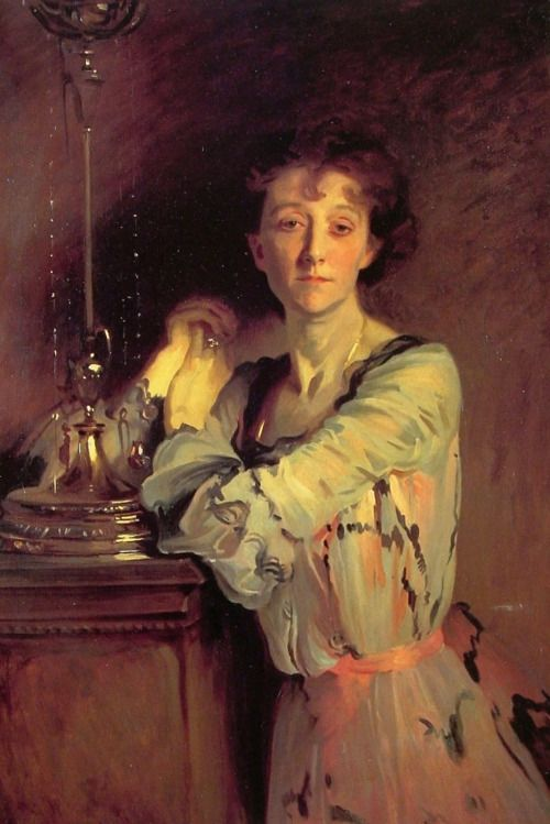 Mrs Charles Russell by John Singer Sargent (1856 - 1925)