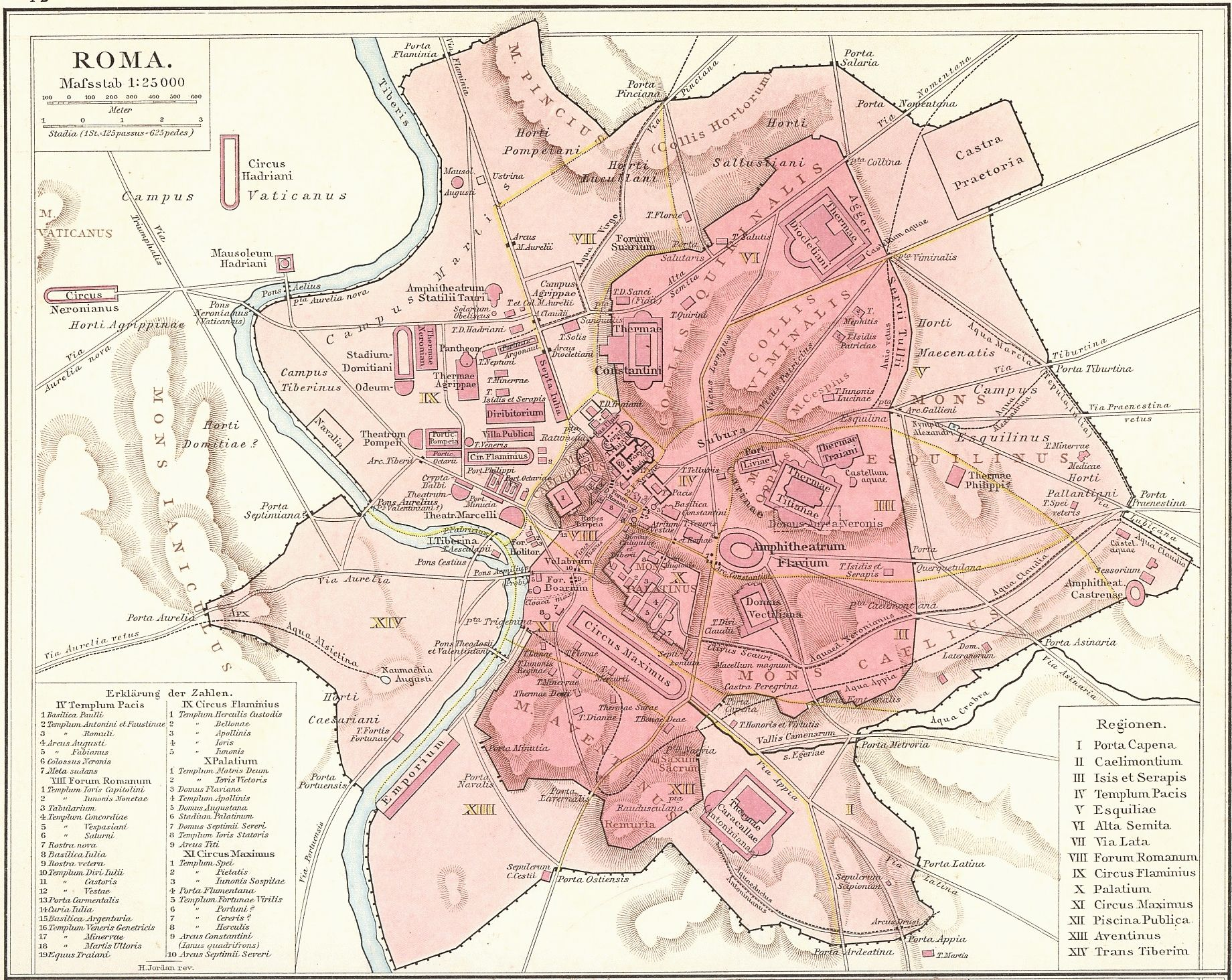 Map Of Republican And Imperial Ancient Rome Italy Pinterest - Rome map download