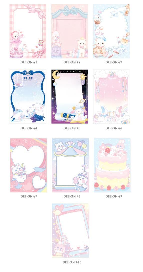 ILLUSTRATED MEMO | Colorful Memo | Memopad | Notepad | Christmas Gift | Korean Stationery | Notebook | Scrapbooking | Gift | Bullet Journal