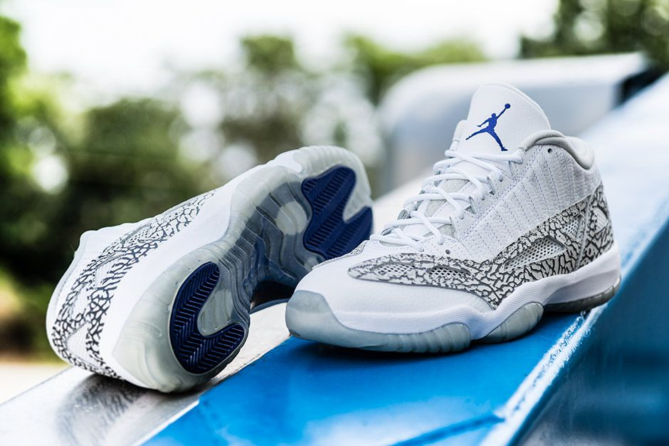 """A Detailed Look At The Air Jordan 11 IE Low """"Cobalt"""" Page 2 of 3 -  SneakerNews.com 93c61f31fc"""