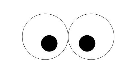 graphic relating to Printable Eye referred to as Birds Crafts - Print your Owl Eyes Template at