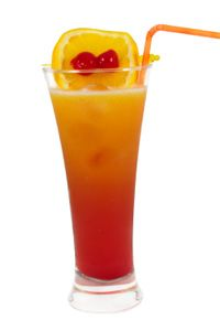 Tequila Sunrise #alcoholicpartydrinks