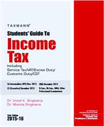 Vinod Singhania Income Tax Book