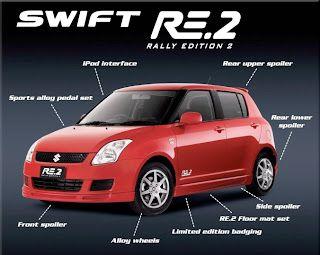 Suzuki Swift Rally Edition 2 Specs Suzuki Swift Suzuki Dream Cars