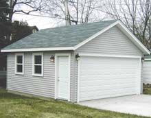 18x20 Gable Garage Gable Garages Garage Dream Garage Backyard