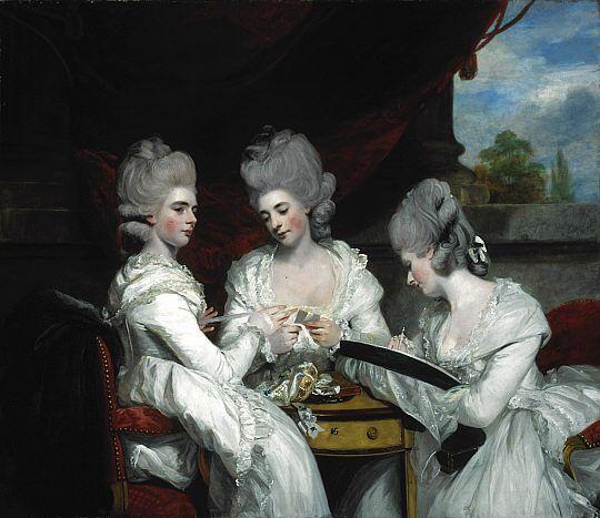 the ladies waldegrave. sir joshua reynolds. 1780. | Art