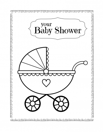 Baby Shower Coloring Pages Coloring Rocks Welcome New Baby Baby Colors New Baby Products