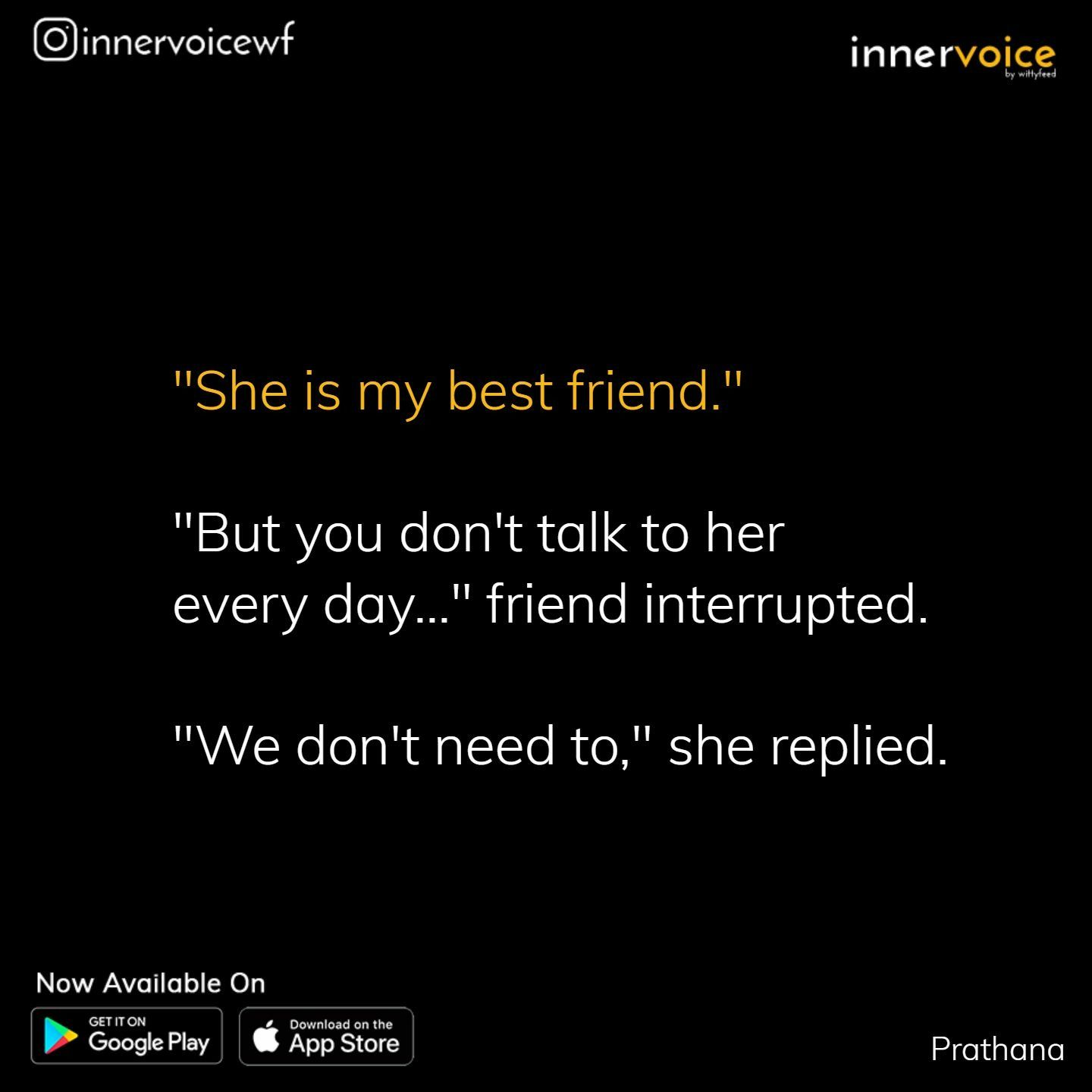 Pin by Sahithya on Tiny Tales Friendship quotes, True