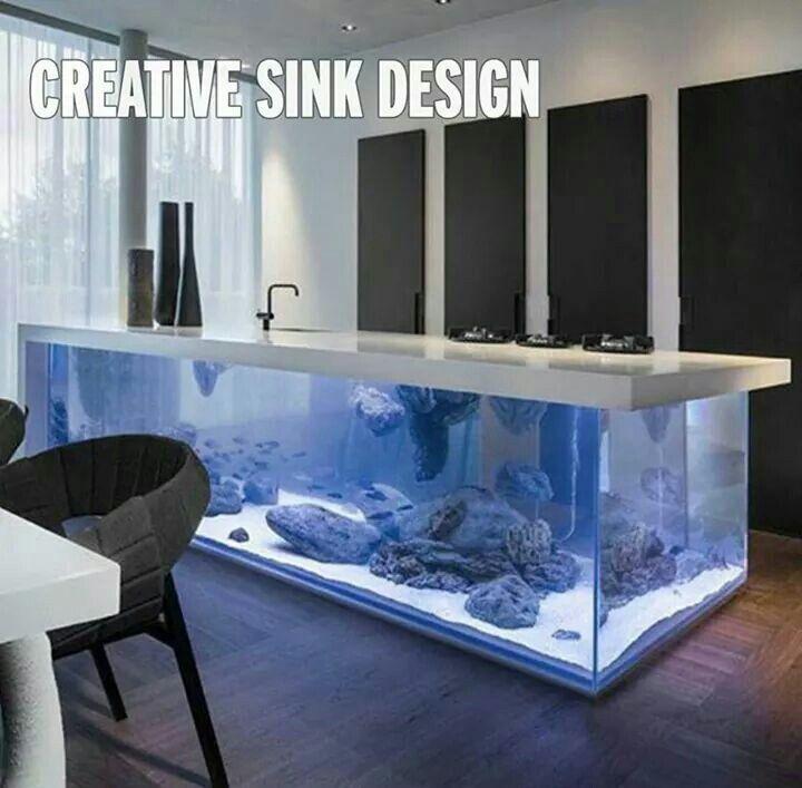 Aquarium sink | Homes | Pinterest