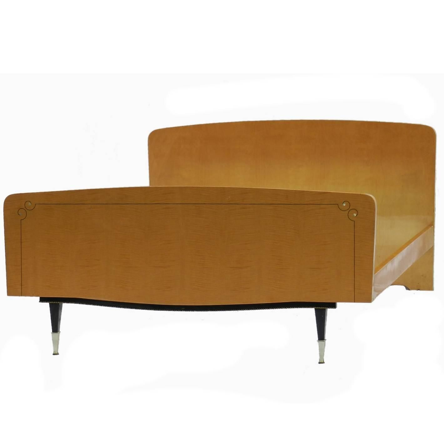 Best Mid Century Bed French Double Bed 1950 1960 From A 400 x 300